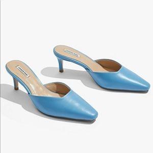 Country Road Kitten Heel Blue Size 9 BNWT RRP 159